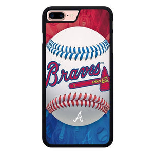 Atlanta Braves Logo X00415 hoesjes iPhone 7 Plus , iPhone 8 Plus