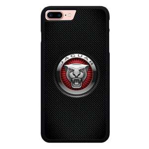 jaguar logo X00411 hoesjes iPhone 7 Plus , iPhone 8 Plus