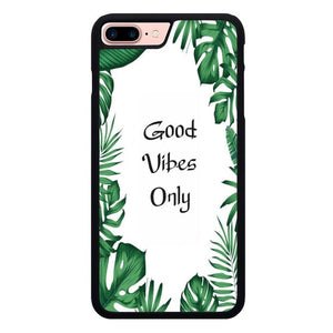 Good vibes only X00455 hoesjes iPhone 7 Plus , iPhone 8 Plus