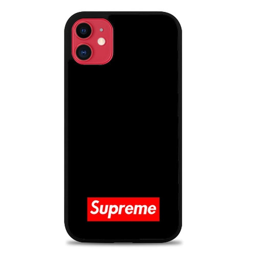 Supreme Red X4483 iphone 11 hoesjes