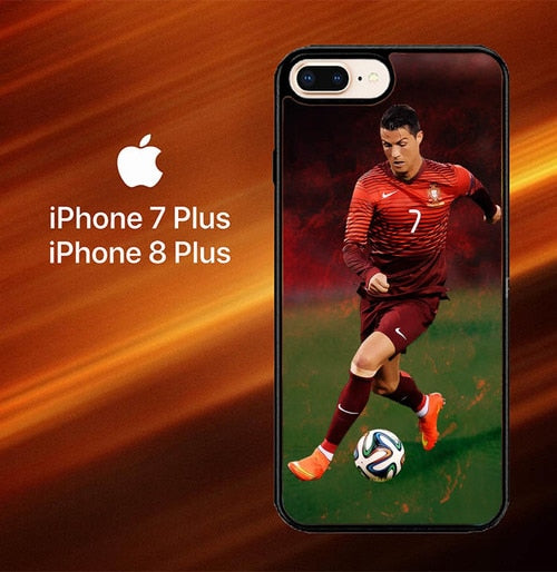Cristiano Ronaldo Portugal X7033 hoesjes iPhone 7 Plus , iPhone 8 Plus