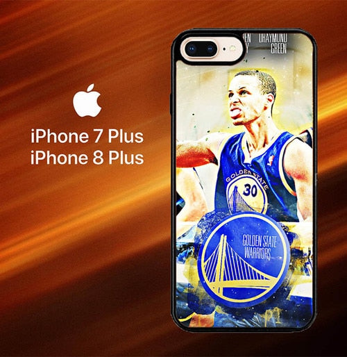 Golden State Warriors X8023 hoesjes iPhone 7 Plus , iPhone 8 Plus