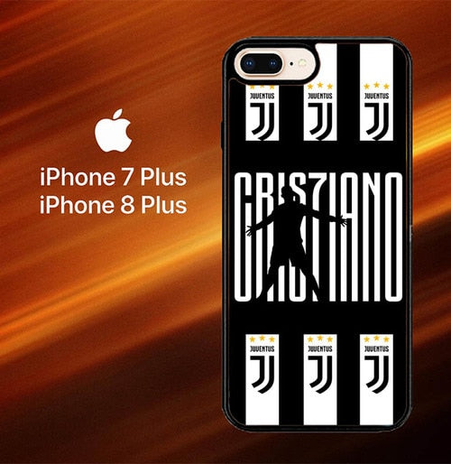 C Ronaldo Juventus X8087 hoesjes iPhone 7 Plus , iPhone 8 Plus