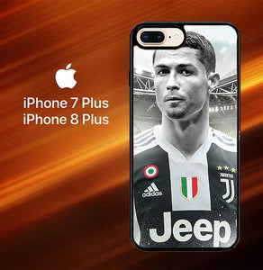 Cristiano Ronaldo Juventus X8098 hoesjes iPhone 7 Plus , iPhone 8 Plus