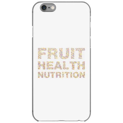 fruit health nutrition iphone 6 6s hoesjes