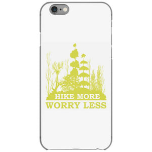 hike more worry less iphone 6 6s hoesjes