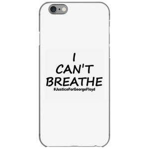 i can t breathe justice black print iphone 6 6s hoesjes