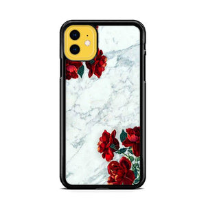 Rose and Marble iPhone 11 hoesjes