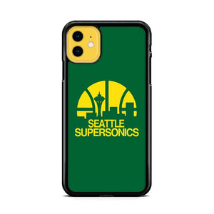 Seattle Supersonics Logo iPhone 11 hoesjes