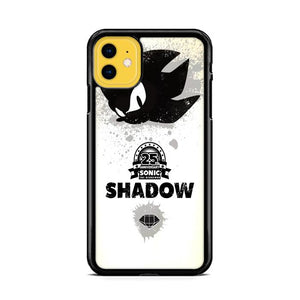 Shadow Black Sonic iPhone 11 hoesjes