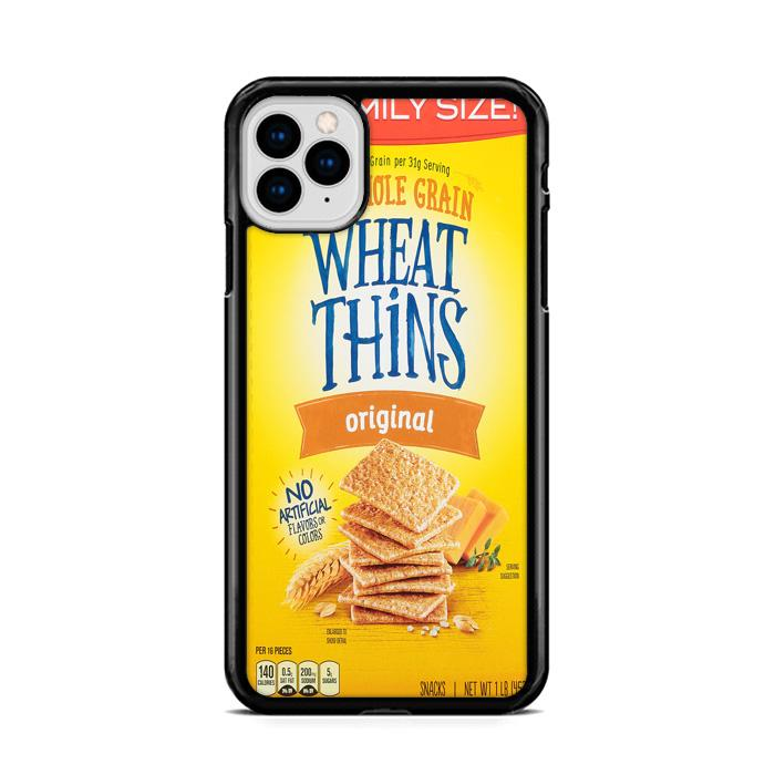 Wheat Thins Snack Cracker iPhone 11 hoesjes Pro Max