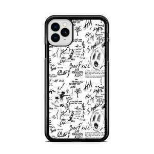 Xxxtentacion Doodles iPhone 11 hoesjes Pro Cases