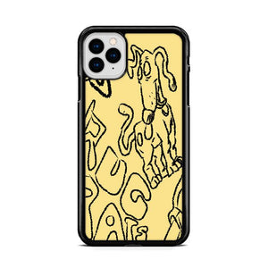 Rugrats Dog iPhone 11 hoesjes Pro Cases