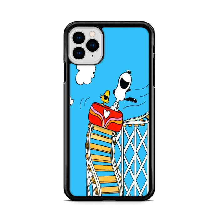 Snoopy Rollercoaster iPhone 11 hoesjes Pro Cases