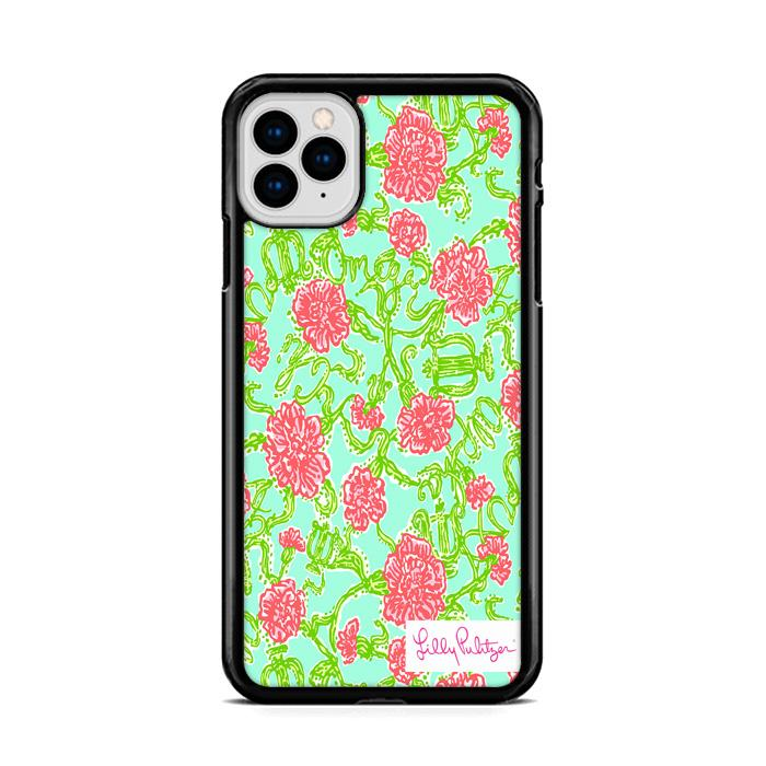 Roses Lilly Pulitzer iPhone 11 hoesjes Pro Max
