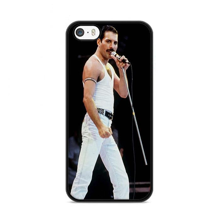 Queen Freddie Mercury de Blanco iPhone 5|5S|SE hoesjes