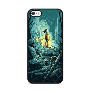 Wonder Womasn Dan Mumford iPhone 5|5S|SE hoesjes
