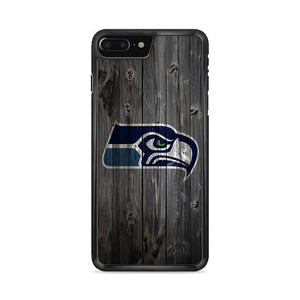 Seatle Hawks Grey Wooden iPhone 8 Plus hoesjes