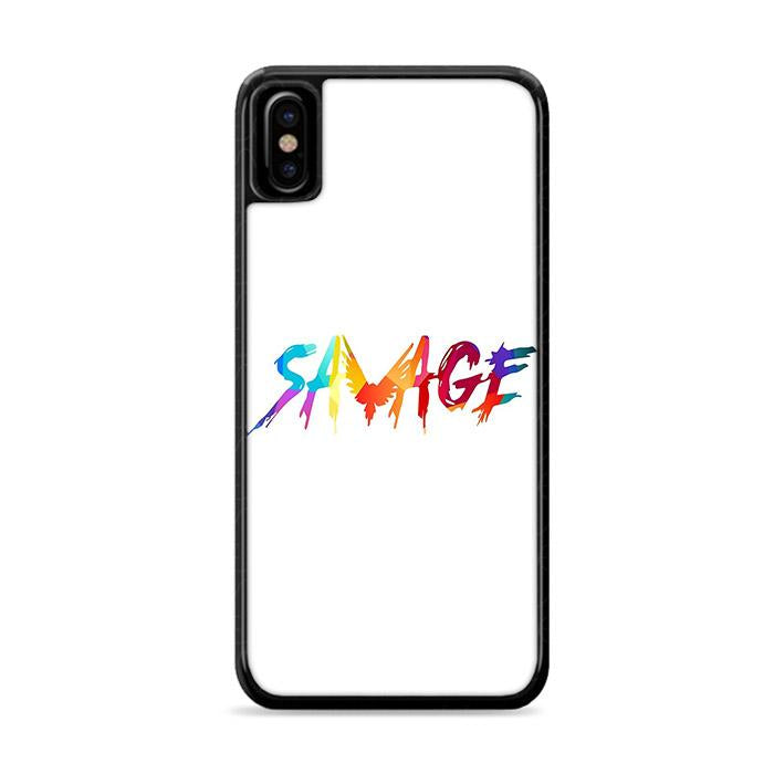 Savage Multicolor iPhone X hoesjes Cases
