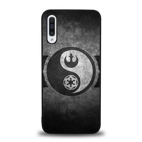coque custodia cover fundas hoesjes j3 J5 J6 s20 s10 s9 s8 s7 s6 s5 plus edge B36502 Star Wars Ying Yang H0021 Samsung Galaxy A50 Case