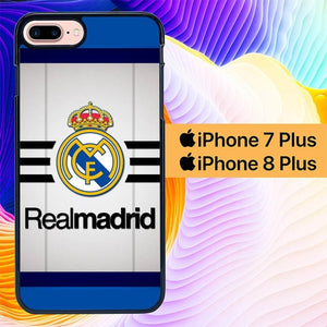 Real Madrid Simple L0053 hoesjes iPhone 7 Plus , iPhone 8 Plus