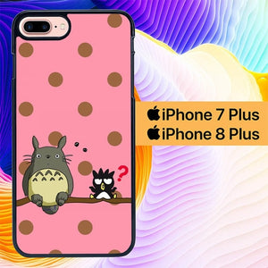 totoro L0094a hoesjes iPhone 7 Plus , iPhone 8 Plus