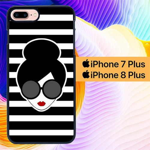 Alice And Olivia Wallpaper L0110 hoesjes iPhone 7 Plus , iPhone 8 Plus