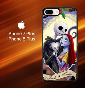 Jack And Sally Nightmare L0163 hoesjes iPhone 7 Plus , iPhone 8 Plus