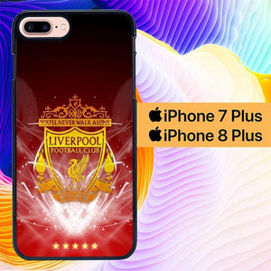 Liverpool Football L0174 hoesjes iPhone 7 Plus , iPhone 8 Plus