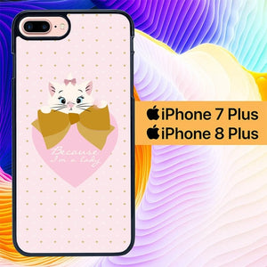 Marie Cat L0196 hoesjes iPhone 7 Plus , iPhone 8 Plus