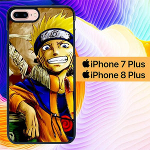 Naruto Art L0217 hoesjes iPhone 7 Plus , iPhone 8 Plus