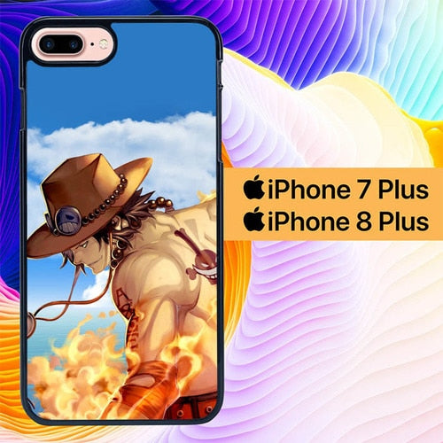 One Piece Character L0229 hoesjes iPhone 7 Plus , iPhone 8 Plus