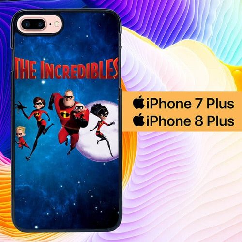 the incredibles L0250 hoesjes iPhone 7 Plus , iPhone 8 Plus