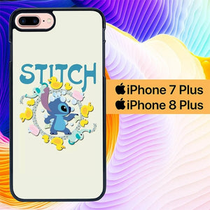 Stitch With Duck L0278 hoesjes iPhone 7 Plus , iPhone 8 Plus