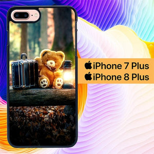 Teddy Bear Picnic L0281 hoesjes iPhone 7 Plus , iPhone 8 Plus