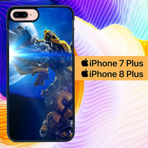 transformer bumble bee L0313 hoesjes iPhone 7 Plus , iPhone 8 Plus