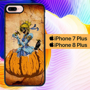 zombie cinderella L0330a hoesjes iPhone 7 Plus , iPhone 8 Plus