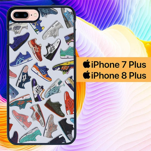 Sneakers Art L0432 hoesjes iPhone 7 Plus , iPhone 8 Plus