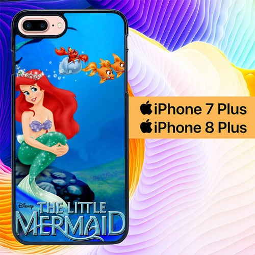 the little mermaid L0447a hoesjes iPhone 7 Plus , iPhone 8 Plus