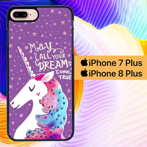 May All Your Dream Come True L0530 hoesjes iPhone 7 Plus , iPhone 8 Plus