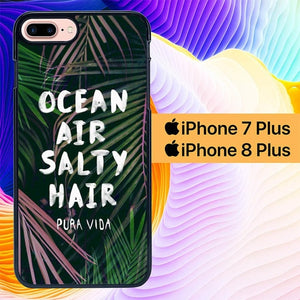 Ocean Air Salty Hair L0542 hoesjes iPhone 7 Plus , iPhone 8 Plus