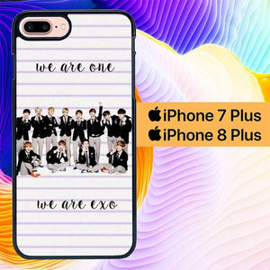 We Are EXO L0591 hoesjes iPhone 7 Plus , iPhone 8 Plus