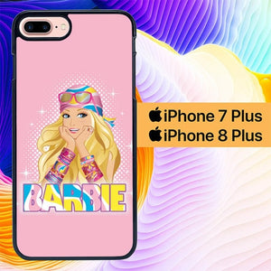 Barbie Girl Pink L0602 hoesjes iPhone 7 Plus , iPhone 8 Plus