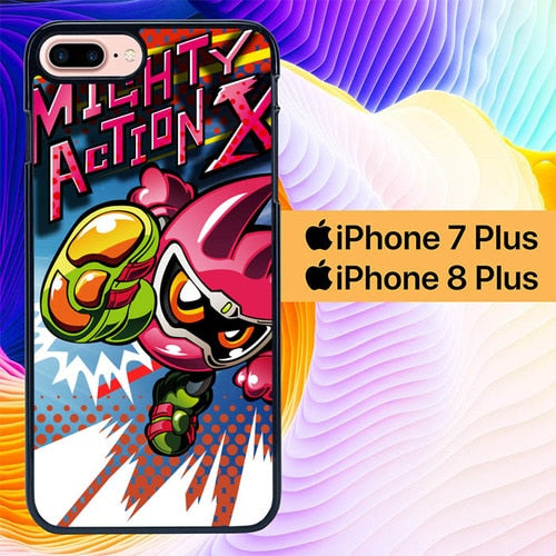 Mighty Action X L0622 hoesjes iPhone 7 Plus , iPhone 8 Plus