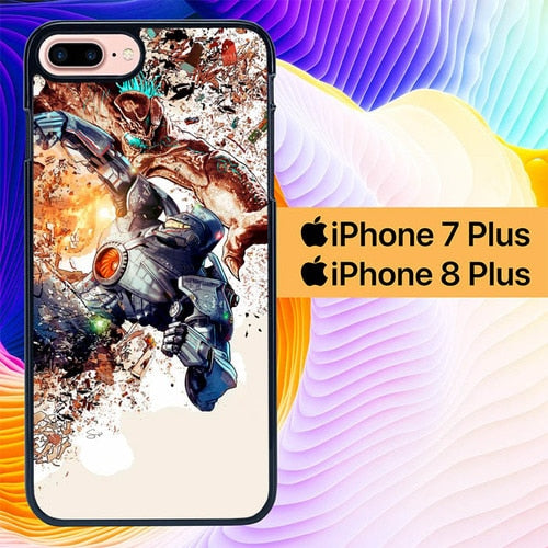 Pacific Rim 2 L0626 hoesjes iPhone 7 Plus , iPhone 8 Plus