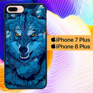 Southside Wolf L0695 hoesjes iPhone 7 Plus , iPhone 8 Plus