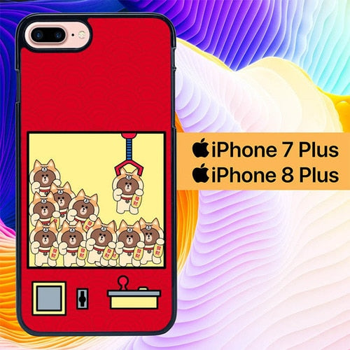 Brown Line Games L0713 hoesjes iPhone 7 Plus , iPhone 8 Plus