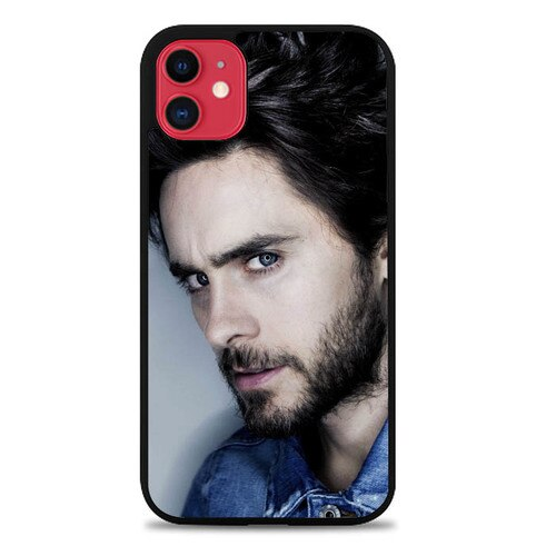 30 Seconds to Mars Jared Leto Photo L1091 iphone 11 hoesjes
