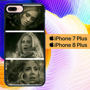 Adele Hello Colateral L1105 hoesjes iPhone 7 Plus , iPhone 8 Plus