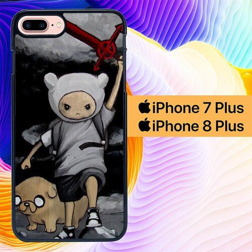 Adventure Time Heroic  L1141 hoesjes iPhone 7 Plus , iPhone 8 Plus